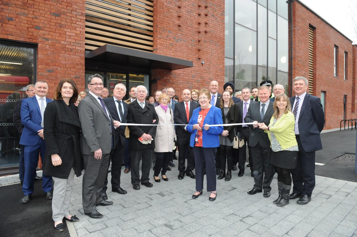 Lennoxtown Hub official opening
