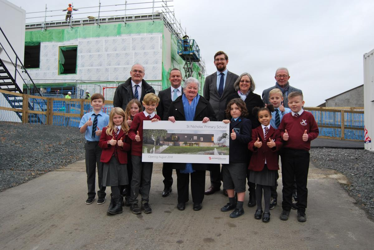 new school is named st nicholas� primary east