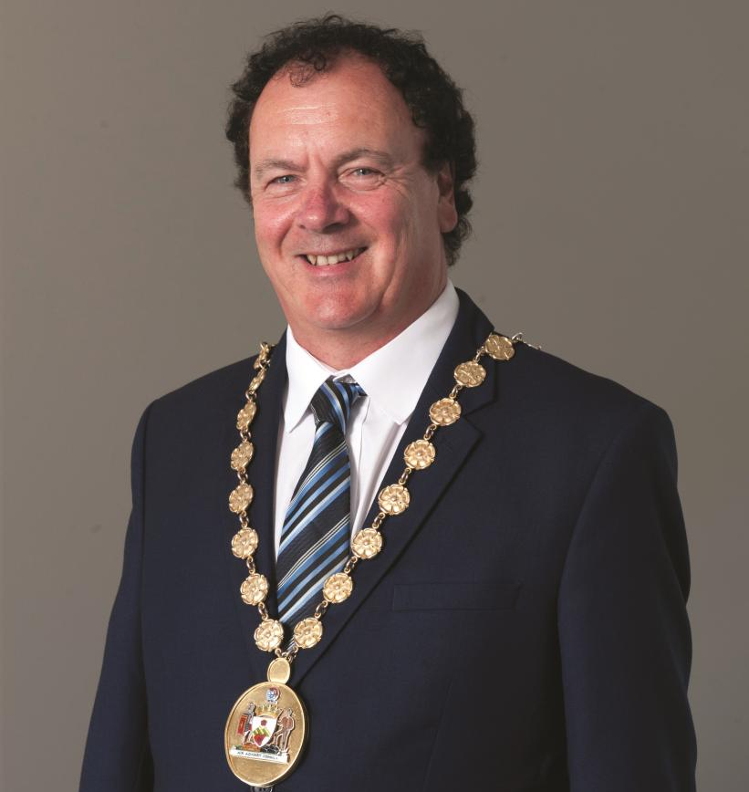 Provost Alan Brown image