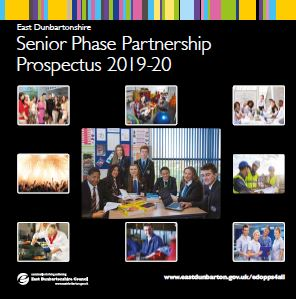 image of front cover of senior phase partnership prospectus 2019-20
