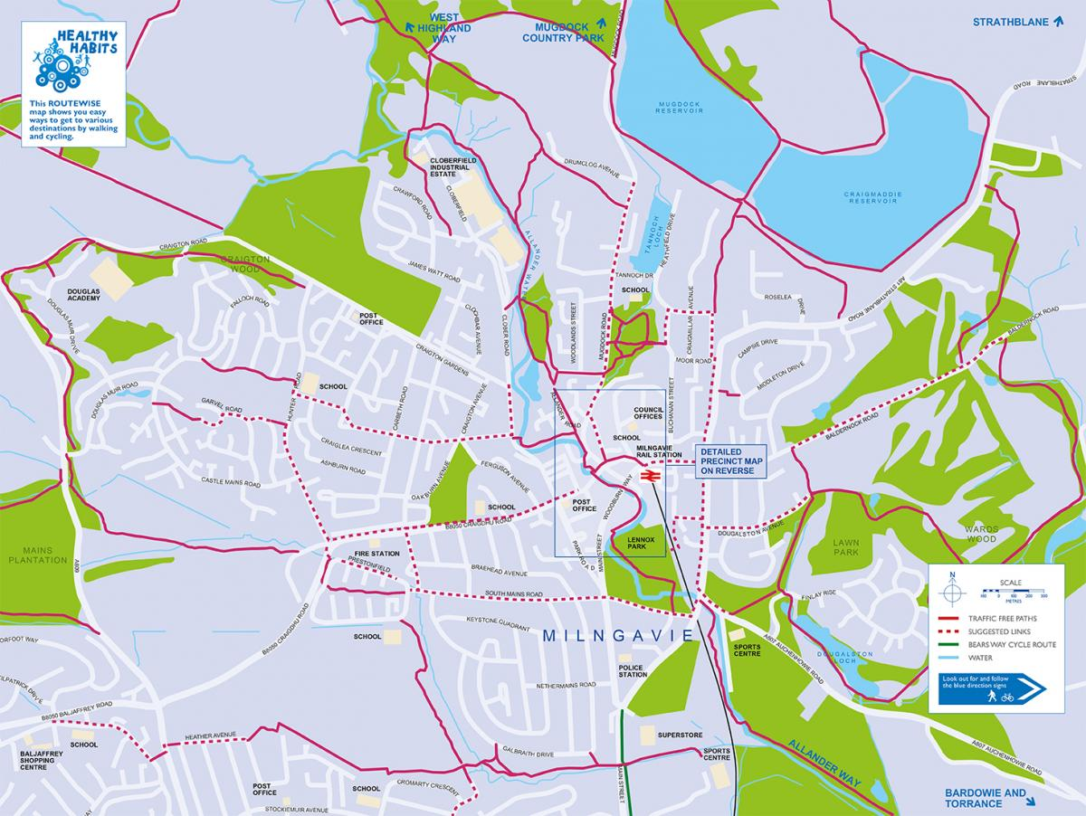 Milngavie Map
