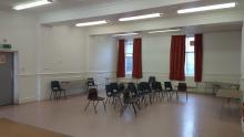 Image of internal hall Lenzie public hall